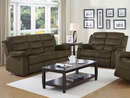 100 Sofa N More 2 PC Rodman Chocolate Velvet Reclining Loveseat Set 601881
