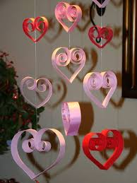 Decoration Adorable Valentine Day Decorations To Make Yourself Design Ideas Paper Craft Formed Love With