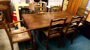 Priory Table And Six Chairs Two Carvers Sale Manchester GBP4500