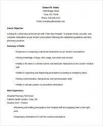 Download Free 10 Pharmacy Technician Resume Templates Pdf Doc Of Get 7 Pharmacist Curriculum Vitae