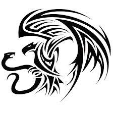 Tribal Mexican Eagle Tattoo Design