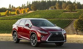 Consumer Reports Names 2016 Lexus RX 350 Best Luxury SUV
