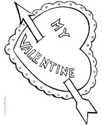 Hearts Coloring Pages Printable Valentine