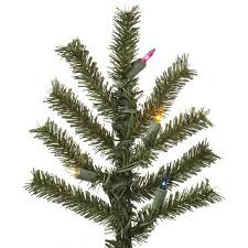 7ft Unlit Artificial Christmas Tree Natural Alpine Target