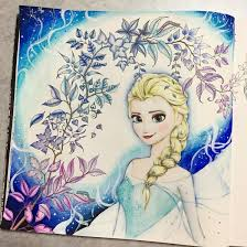 Frozen Coloring Book Art Therapy Adult Colouring Books Are A Cool New Trend Lifestyle