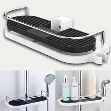 dusch badewannenzubehör badezimmer regal dusche stange