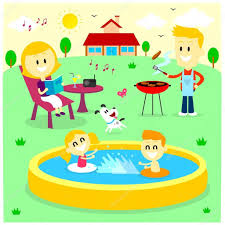 Family Fun Time At The Backyard House — Stock Vector © Jacklooser ... 8 Best Pta Reflections Images On Pinterest Art Shows School And Best Backyard Playground Ever Youtube Diy Outdoor Banagrams Make Your Own Backyard Version Of This My Yard Goes Disney Hgtv Backyards Innovative Recycled Tiles And Child Proof Water Mcdonalds Happy Meal Playhouse Box Fort Drive Thru Prank Family Fun Modern Backyard Design For Experiences To Come New Nature Landscaping Designing A Images On Livingmore Family Fun Pride Pools Spas 17 Games For Diy Games