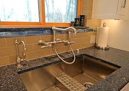 kitchen island sink splash guard backsplash farm built double