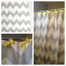 Gray Chevron Bathroom Decor by Best 25 Chevron Shower Curtains Ideas On Pinterest Yellow