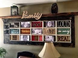 DIY Rustic Decorating A Door Picture Frame HomeStyleDiary