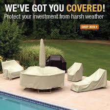 winter outdoor furniture covers outdoorlivingdecor
