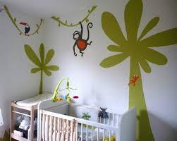 chambre de b b jungle barriolade peintures décoratives dans la jungle