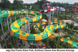 Jogja Bay Pirates Water Park Diklaim Sebagai Wahana Permainan Air Terbesar Tercanggih Dan Terlengkap Yang Ada Di Indonesia