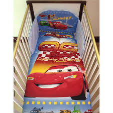 Lighting Mcqueen Toddler Bed by Disney Pixar Cars Lightning Mcqueen Bedding Set For Cot Or Cotbed