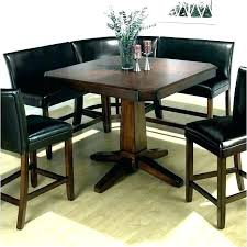 Corner Bench Dining Table Set 2 Chairs Chair Two Kitchen Large Size Of Reviews