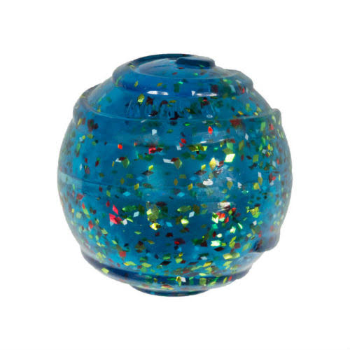 KONG Squeezz Confetti Ball Dog Toy, Assorted, S