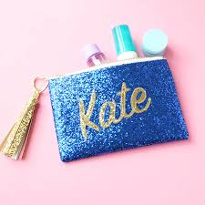 personalised name glitter clutch bag by sos15 notonthehighstreet com
