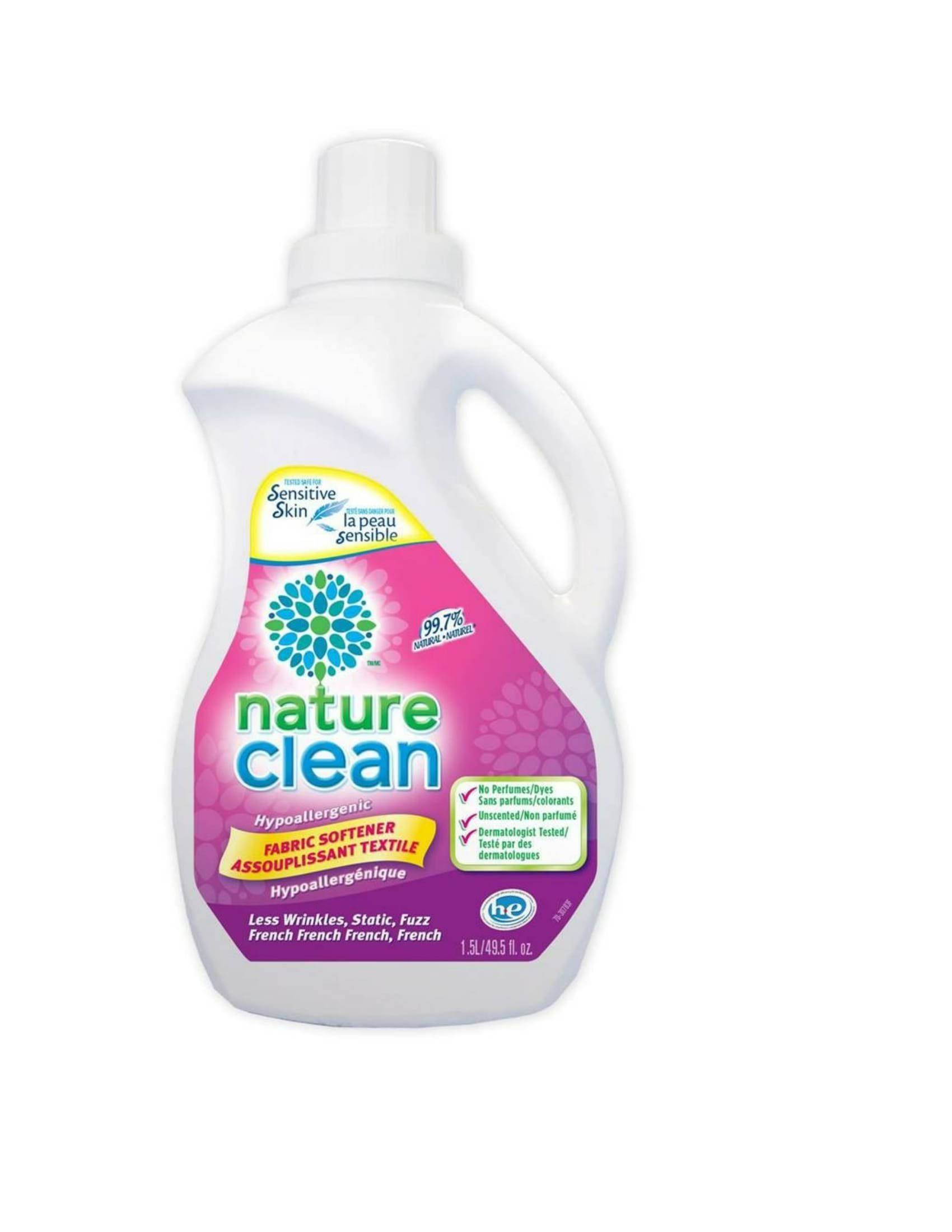 Nature Clean Hypoallergenic Fabric Softener - 1.5L