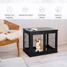 pawhut rattan hundehaus hundebett mit kissen hausform outdoor hundehütte stahlrahmen pp