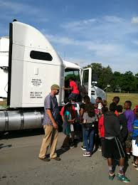 100 Truck Driver Career Day At Roy Waldron Elementary School STS