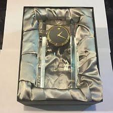 movado quartz battery powered desk mantel shelf clocks ebay