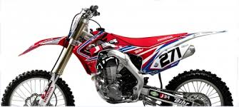 kit deco crf 250 kit deco 2d racing team jbr 250 crf x 2004 2012 crossmoto fr 03