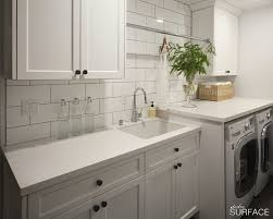 white laundry rooms transitional laundry room studio surface