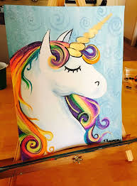Unicorn Starbucks Drawing Elegant How To Paint A Rainbow Easy Art Pinterest