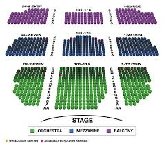 Lyceum Theatre Broadway Seating Charts