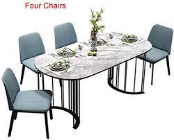 lgfsg esstisch und stühle esszimmer set wohnmöbel moderner