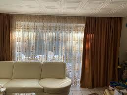gardinen für wohnzimmer 3 teilig