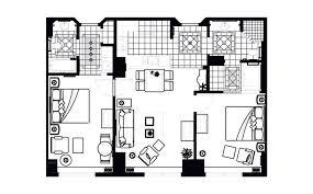 Elara One Bedroom Suite by 2 Bedroom Suites Las Vegas Strip Hilton Grand Vacations Resort On