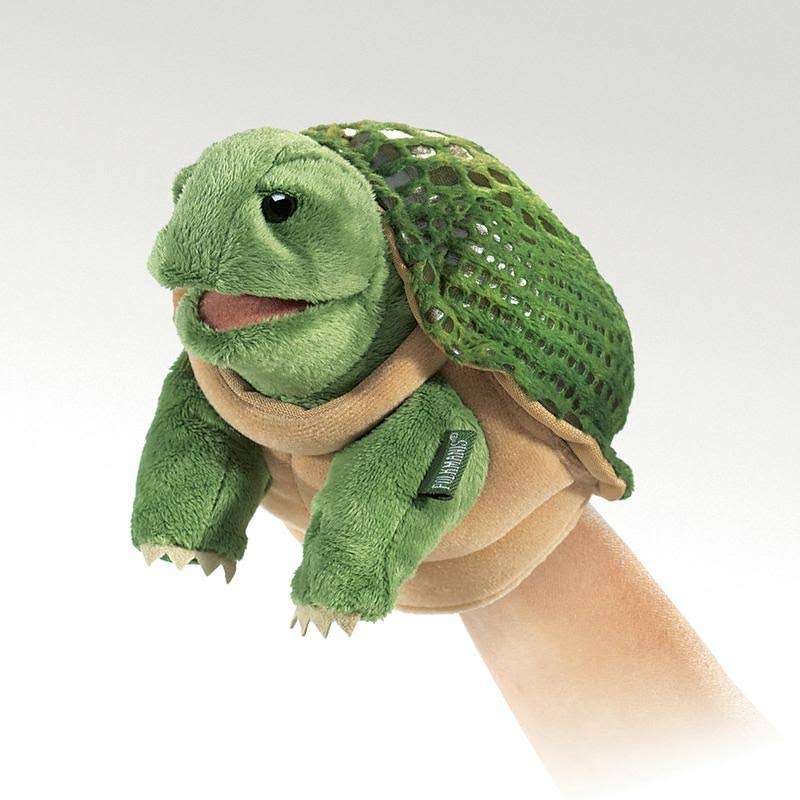 Folkmanis Little Turtle Hand Puppet