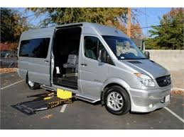 This Weeks LimoForSale Editors Pick Of The Week Is A 2008 Mercedes Benz Sprinter Van That Has Been Converted To Accommodate Wheelchair Passengers