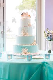 Blue Ombre Wedding Cake Johnsons Custom Cakes