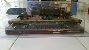 100 Menards Truck Gold Line 2790864 Flat Car W Army Trainz Auctions