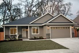 3 Bedroom Ranch Floor Plans Colors Decorative Shutters Multipaned Windows And Front Gables Put A