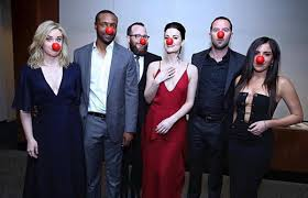Halloween 1 Cast by The Cast Of U0027blindspot U0027 Photos Celebs Celebrate Red Nose Day