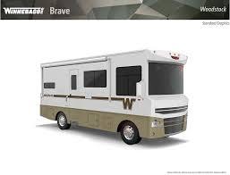 Retro Camper Winnebago Brave