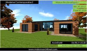 bac a avec toit maison en structure metallique 13 maison toit plat et toiture