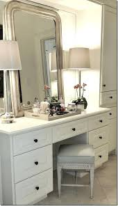 makeup table with lighted mirror and drawers dressing table mirror
