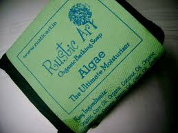 Rustic Art Algae Organic Bathing Soap