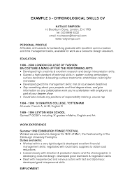 Personal Profile A Flexible Graduate With First Job Resume Objective Examples And Education On Leyton High School