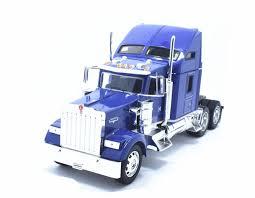 Welly 1:32 Kenworth W900 Semi Tractor Trailer Diecast Alloy Truck ...