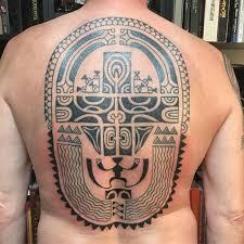 Polynesian Tattoo For Back