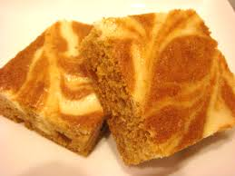 Pumpkin Marble Cheesecake Chocolate by Marble Cheesecake Bars Images