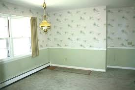 Height Of Chair Rail Dining Room Wallpaper Medium Images Designs Paint Color Ideas For Living With