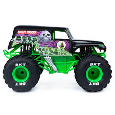 100 Grave Digger Rc Monster Truck Spin Master Jam Jam Official Remote