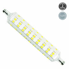 8w 118mm r7s led bulb 100w halogen replacement torchstar