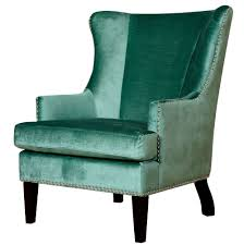 chairs green leather wingback chair strandmon wing nordvalla